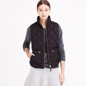 Used, J. Crew Excursion Quilted Down Vest for sale